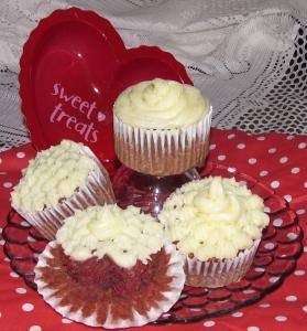 GF Red Velvet Cupcakes