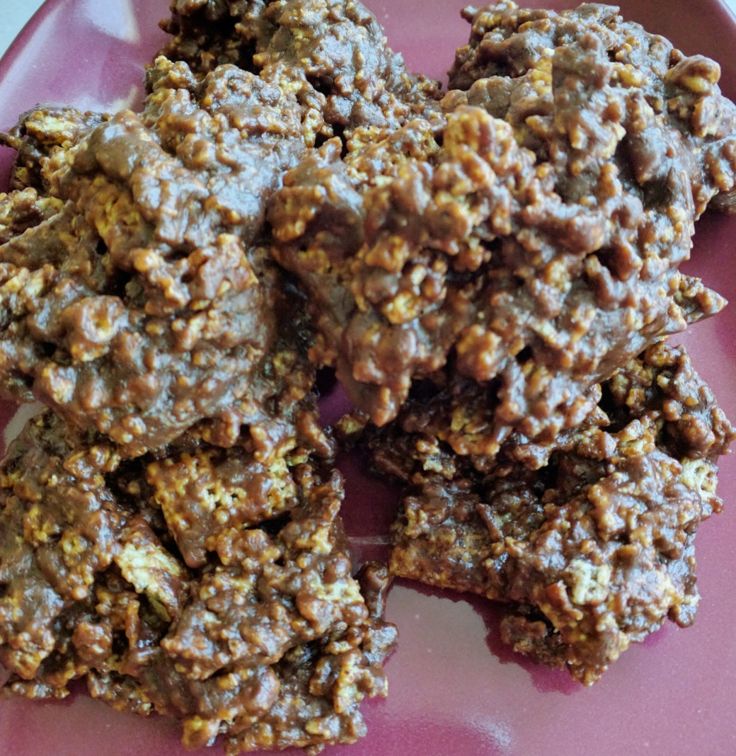 Crunchy No Bake Cookies