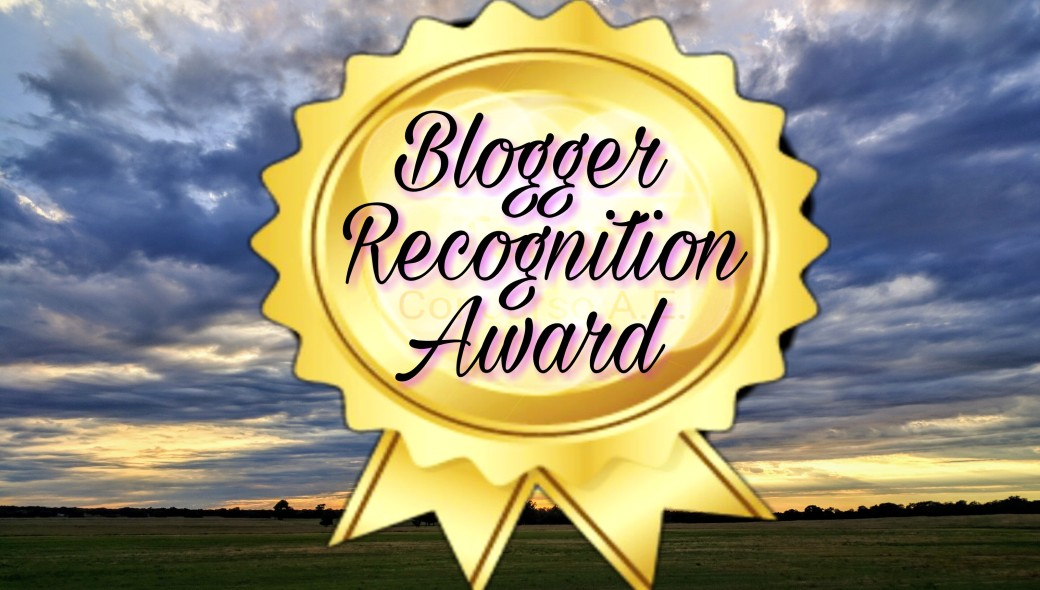 Blogger Recognition award2017