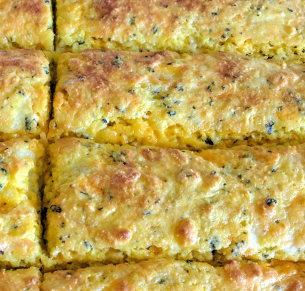 Cheesy Garlic herb bread sticks 1