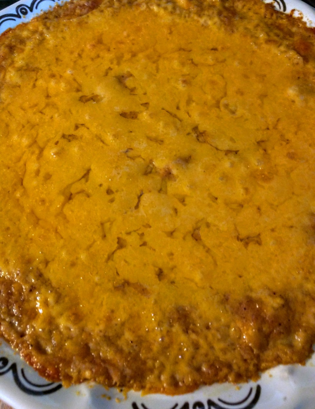 Chicken Bean and Cheese Casserole