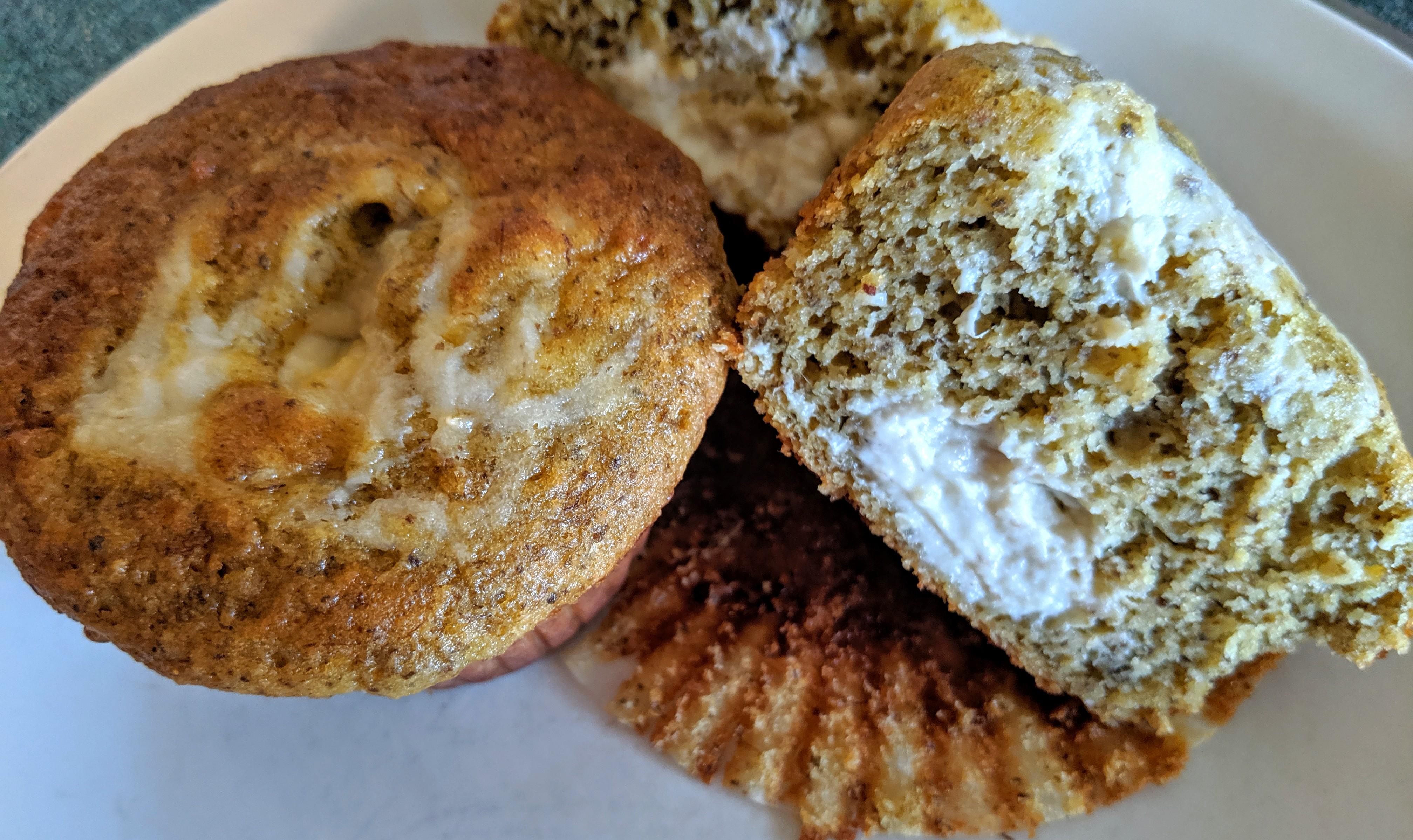 Banana cream muffins2