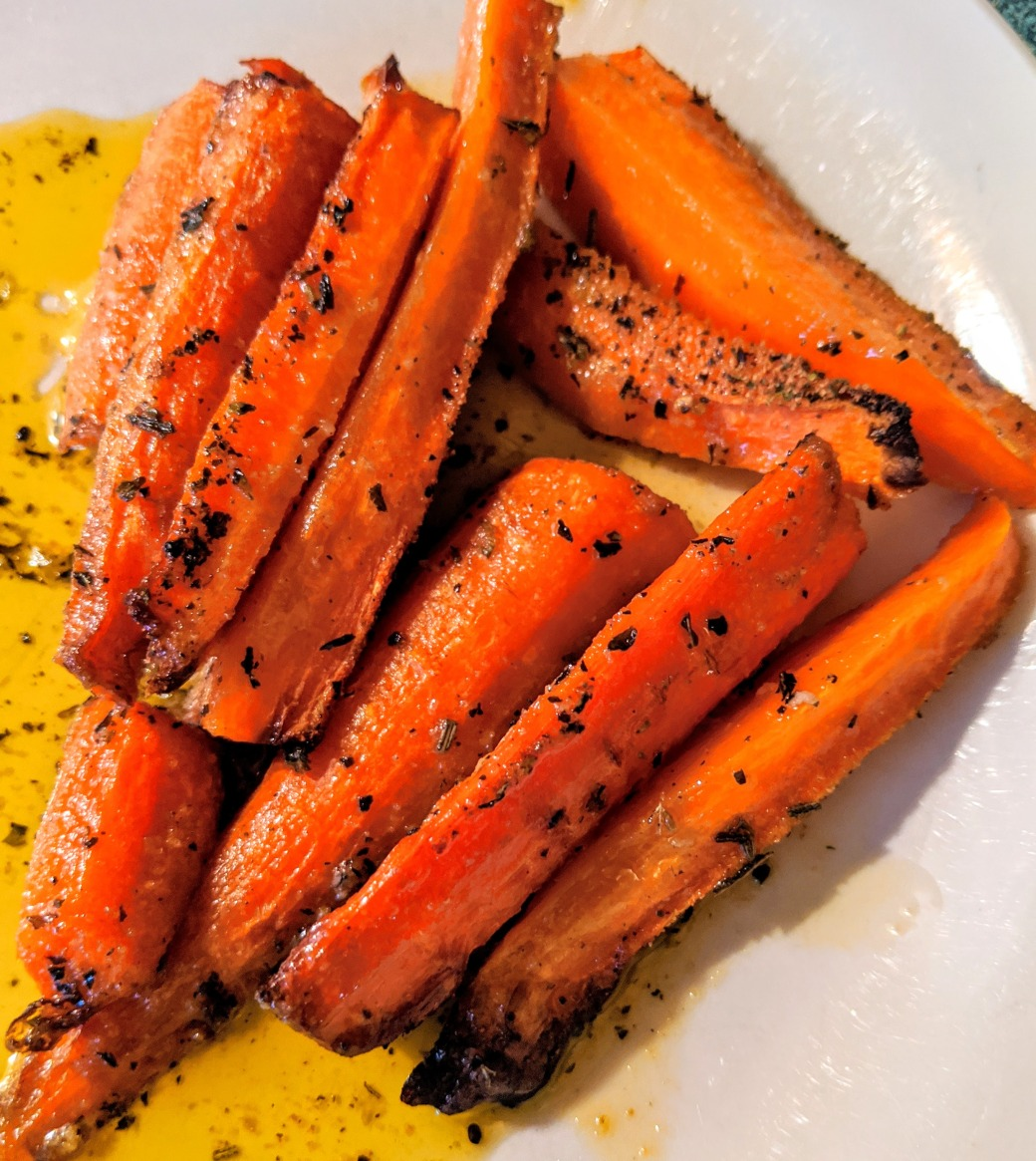 AirFryerRoasted Carrots